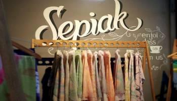 Sepiak  Batik Motif Belitung