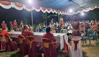 Serap Aspirasi, Reses Rudianto Tjen Dihadiri Masyarakat Flabomora Bateng