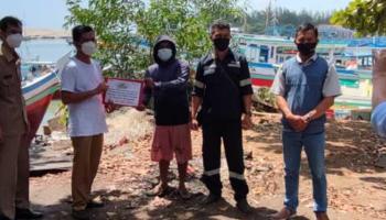 Serikat Nelayan Nahdlatul Ulama Bangka Terima Bantuan Pembuatan Rumpon dari PT Timah
