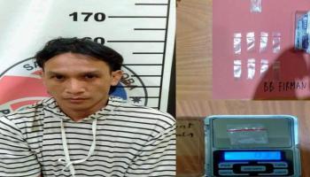 Sering Transaksi Narkoba, Firman Digerebek Polres Bangka Selatan