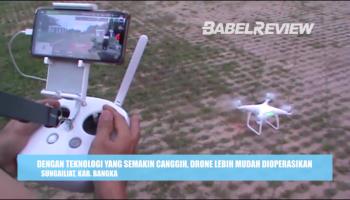 Serunya Menunggu Buka Puasa Sambil Menerbangkan Drone, Tonton Videonya