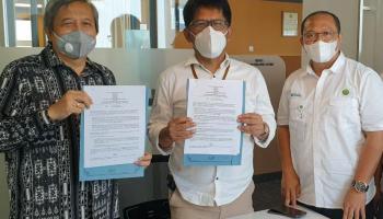 Siapkan Lahan 7.432 Ha, PT Inhutani V Jalin MOU Kembangkan Energi Biomasa