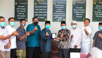 Silaturahmi Kebangsaan, DPW PKS Kunjungi PWNU Babel