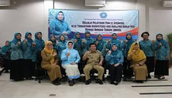 Sinergi dengan Dinas PPKBPPPA, Kader PKK Bateng Diberikan Pelatihan Public Speaking