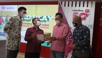 Sinergi Smartfren dan Moratel Hadirkan True QuadPlay untuk Target Pasar Internet QuadPlay di Indonesia