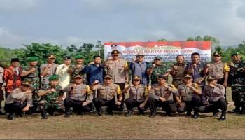Sinergi TNI POLRI Siap Amankan Pemilu