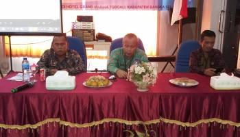 Sinergikan Program Kerja, Diskominfo Babel Rakor Bersama Diskominfo Kabupaten/Kota se Babel