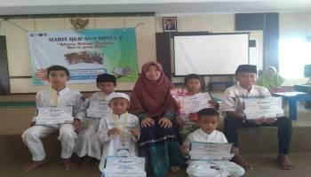 Siswa Siswi Rumah Qur'an Toboali Isi Libur Sekolah Dengan Mabit Qur'an