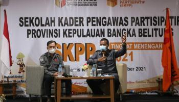 SKPP Tingkat Menengah Bawaslu Babel Rampung, Diharapkan Kader Aktif Menyebarkan Informasi Kepemiluan