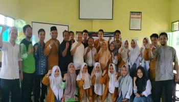 SMA Muhammadiyah Gandeng Pokja Jurnalis Basel Dalam Meningkatkan Semangat Berliterasi