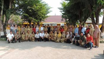 SMANSA Pangkal Pinang Kedatangan Siswa Sulawesi Utara, Tukaran Cinderamata Hingga Foto Bersama