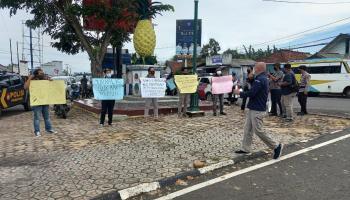 Solidaritas Untuk Marsal, Pokja dan PWI Basel Gelar Aksi Damai