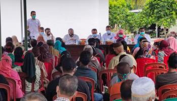 Sosialisasi Pelebaran Jalan Lingkar Timur, Wabup Bangka Harap Masyarakat Sependapat