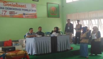 Sosialisasi Pemilu di Bukit Semut, KPU Bangka Harap Warga Binaan Gunakan Hak Suara