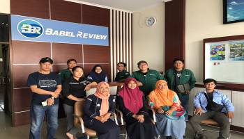 Sosialisasi Penyakit Kanker dan Tumor, YSKI Kunjungi Kantor Redaksi Babel Review