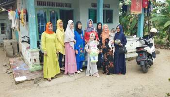 SPC Babel Bersama Alumni SMA Sriwijaya Kunjungi Adik Jesika