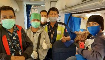 Sriwijaya Air Bantu Pasien Guna Mendapat Penanganan Medis dari Merauke ke Makasar