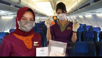 Sriwijaya Air Group Terbangi Babel, Siapkan Protokol Kesehatan untuk Kenyamanan Penumpang