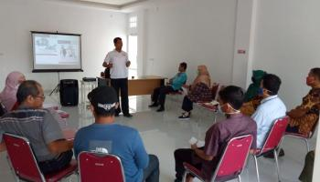 Staf UTD PMI Pangkalpinang Ikuti Orientasi Kepalangmerahan