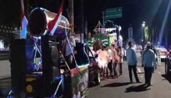 Suara Bedug Meriahkan Malam Takbiran di Pangkal Pinang