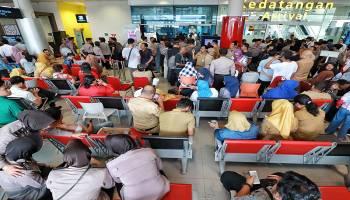 Breaking News - Foto Suasana-Terkini-Bandara-Depati-Amir-Pangkalpinang