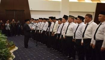 Sukseskan Penyelenggaran Pemilu Tingkat Kecamatan Dalam Pilkada, KPU Bateng Lantik 30 PPK