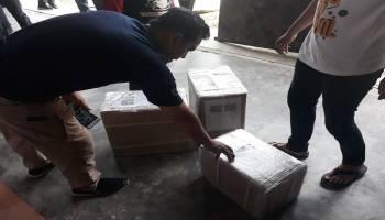 Surat Suara Sudah Tiba, KPU Bangka Tengah Siapkan 75 Tenaga Pelipat