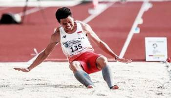 Suwandi Raih Perak di Sea Games 2017 Mahasiswa UBB Ini Harumkan Babel