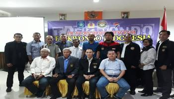 Taekwondo Indonesia (TI) Provinsi Bangka Belitung Gelar Musprov Tahun 2019
