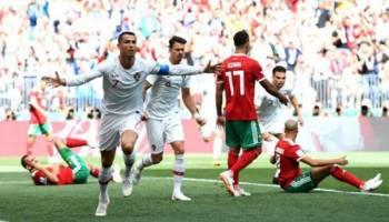 Tandukan Ronaldo Tundukkan Maroko 1-0