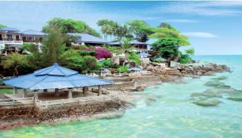Tanjung Pesona banyak view panorama laut