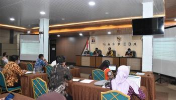 TAPD Pemprov Babel Kembali Bahas RKA Rancangan APBD 2021