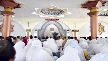 Tarmizi Lepas 313 Calon Jemaah Haji Kabupaten Bangka