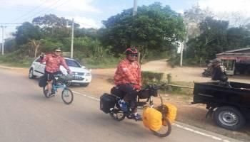 TCOF 2018, Hari Pertama Peserta Bikepacker Nginap di Pantai Tanjung Kerasak