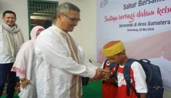 Telkomsel Gelar Sahur Bareng Dhuafa, Serempak di 12 Kota Sumatera