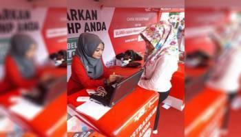 Telkomsel Manjakan Insan Pers di HPN 2018 Padang