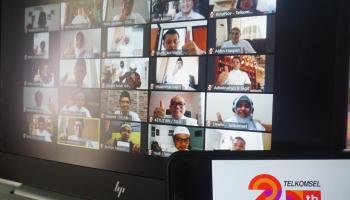 Telkomsel Salurkan Bantuan Sosial Ke Masjid dan Yayasan di Sumatera