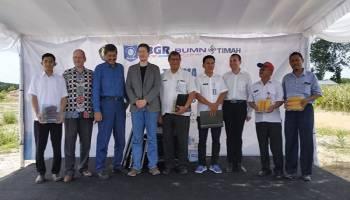 Terima 17 Hektare Lahan Reklamasi Air Kundur, PT. Timah Berkomitmen Hijaukan Lahan Kritis Eks Tambang