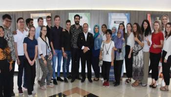 Terima 20 Mahasiswa AIESEC 2019 dari 17 Negara, Ini Pesan Gubernur Erzaldi