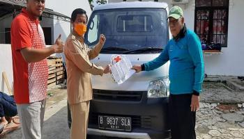 Terima Bantuan Satu Mobil, Abdul Fatah: Terima Kasih PMI Pusat