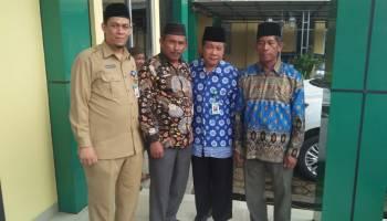 Terima Kunjungan Dua Pengurus Pondok Pesantren, Ketua DPRD Bangka Harap Dapat Membawa Berkah
