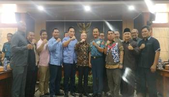 Terima Kunjungan Peserta Pasis Dikreg XLVI Sesko TNI, Didit Beberkan Masalah di Babel