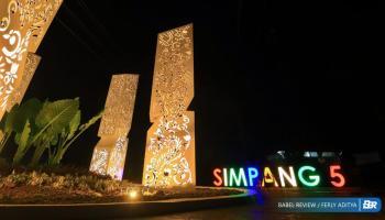 Ternyata Ini Alasan Walikota Pangkalpinang Bangun Tugu Simpang 5