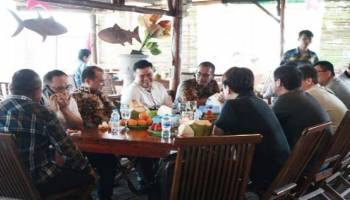 Tertarik Investasi Mineral Ikutan, Calon Investor Jepang dan Thailand Mulai Cek Lokasi