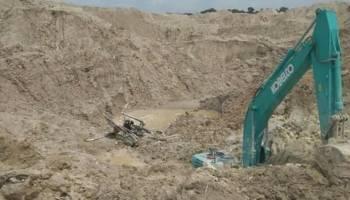 Tertimbun Tanah di Eks Lahan Koba Tin, Operator PC Tewas