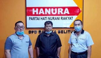 Tetap Dukung Beriman, DPD Hanura Babel Sebut Agustiar Dkk Tak Mewakili Keputusan Partai