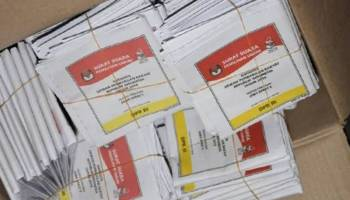 Tiba Hari Kamis, KPU dan Polres Bangka Tengah Siapkan Pengawalan Surat Suara