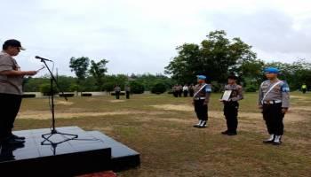 Tidak Disiplin, Polres Bangka Barat Berhentikan Brigadir AF