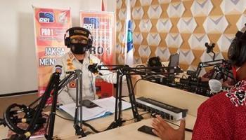 Tidak Hanya Turun ke Lapangan, Satgas Covid -19 Gencar Sosialisasikan PPKM Melalui Media