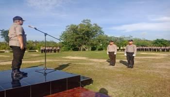 Tidak Lupa Pejuang, Polres Babar Gelar Upacara Kesadaran Nasional